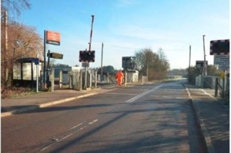 Stewartby Level Crossing-NEW
